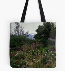 Country Flower Garden Tote Bag