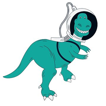 T-Rex I Need Some Space by grouppixel