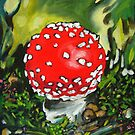 Fliegenpilz / Glückspilz von MushroomOTD