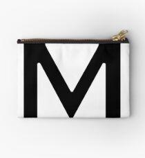 Alphabet Letter M Studio Pouch