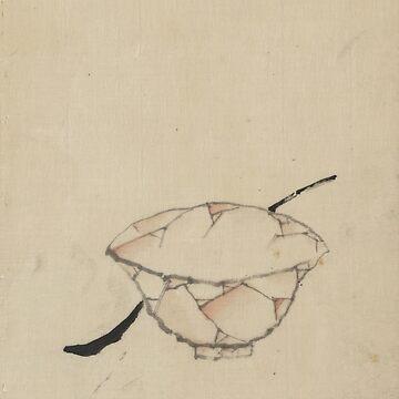 A Bowl With a Spoon - Hokusai Katsushika - 1850 by CrankyOldDude
