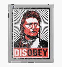 Chief Joseph Disobey iPad Case/Skin