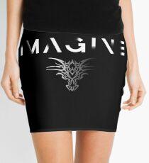 Imagining a Fading Dragon Mini Skirt