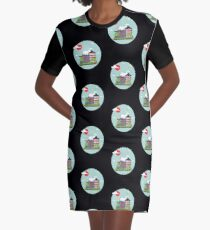 Cultura china Graphic T-Shirt Dress