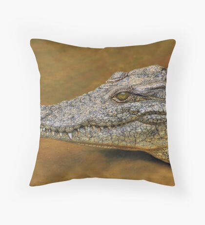 Gnashing!! Throw Pillow