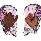 Witchy BFF stickers pack by nevhada