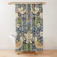 William Morris Strawberry Thief Original  Shower Curtain