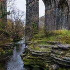 Viaduct Taf Fechan  by I C Images