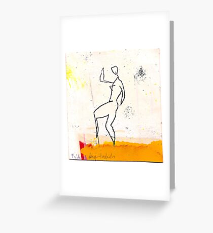 dancer 1 Greeting Card