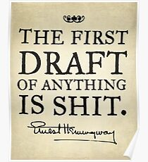 First Drafts Poster