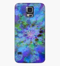 Fraktale Blue Lagoon Hülle & Skin für Samsung Galaxy