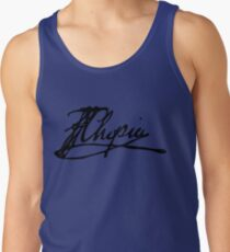 Frédéric Chopin signature Men's Tank Top