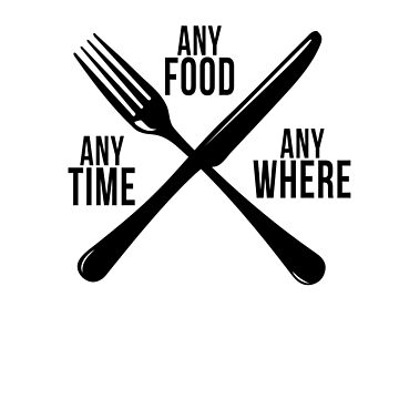 Any Time Any Food Server lover TShirt Birthday Gift Tee by jacko89
