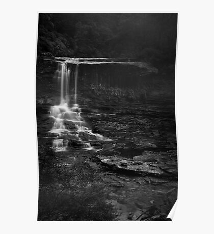 Weeping Rock, Wentworth Falls Poster