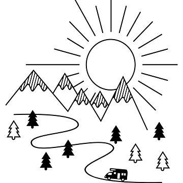 Camper Van by Pferdefreundin