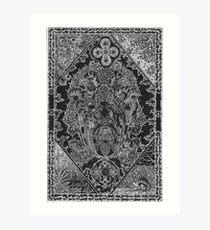 Earthmind, Ink Drawing Art Print