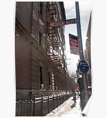 MacDougal Alley Poster