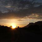 Roof sunset by Karlientjie