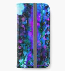 Abstract Art Floral iPhone Wallet/Case/Skin