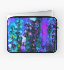 Abstract Art Floral Laptop Sleeve