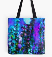 Abstract Art Floral Tote Bag