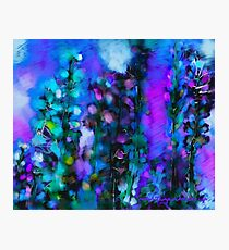Abstract Art Floral Photographic Print