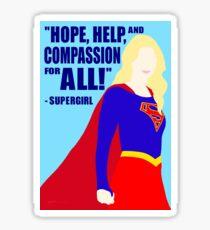 Supergirl - Hope Sticker