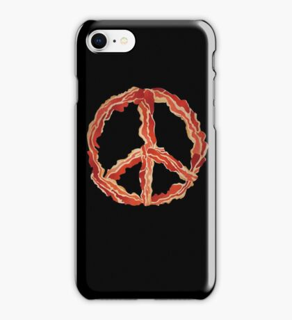Peace of Bacon iPhone Case/Skin