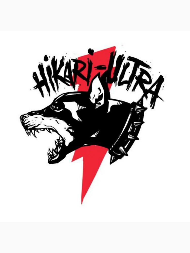 Zillakami x Sosmula Hikari Ultra Logo (City Morgue) [RED BOLT] by connorkas