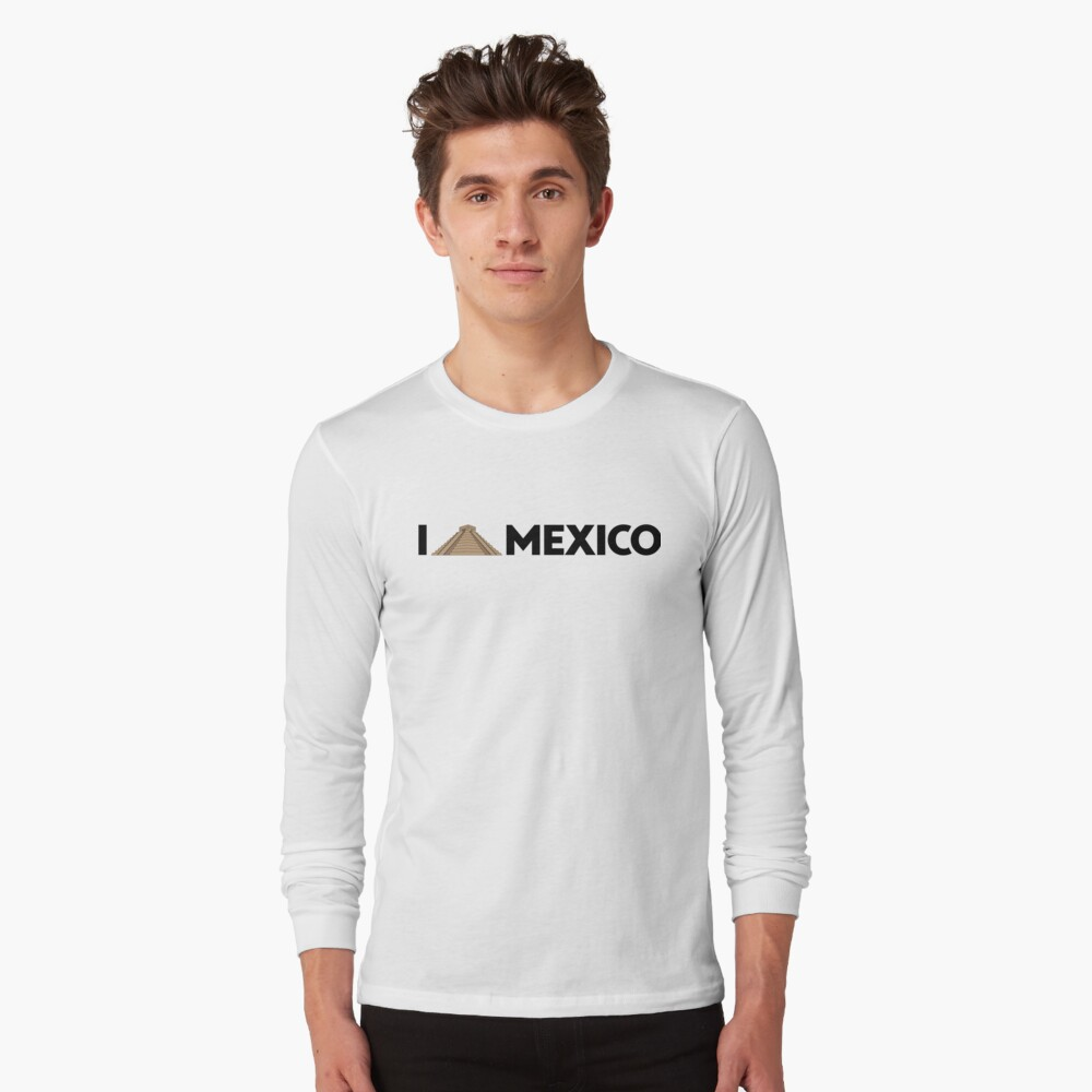 I love Mexico - Chichen Long Sleeve T-Shirt