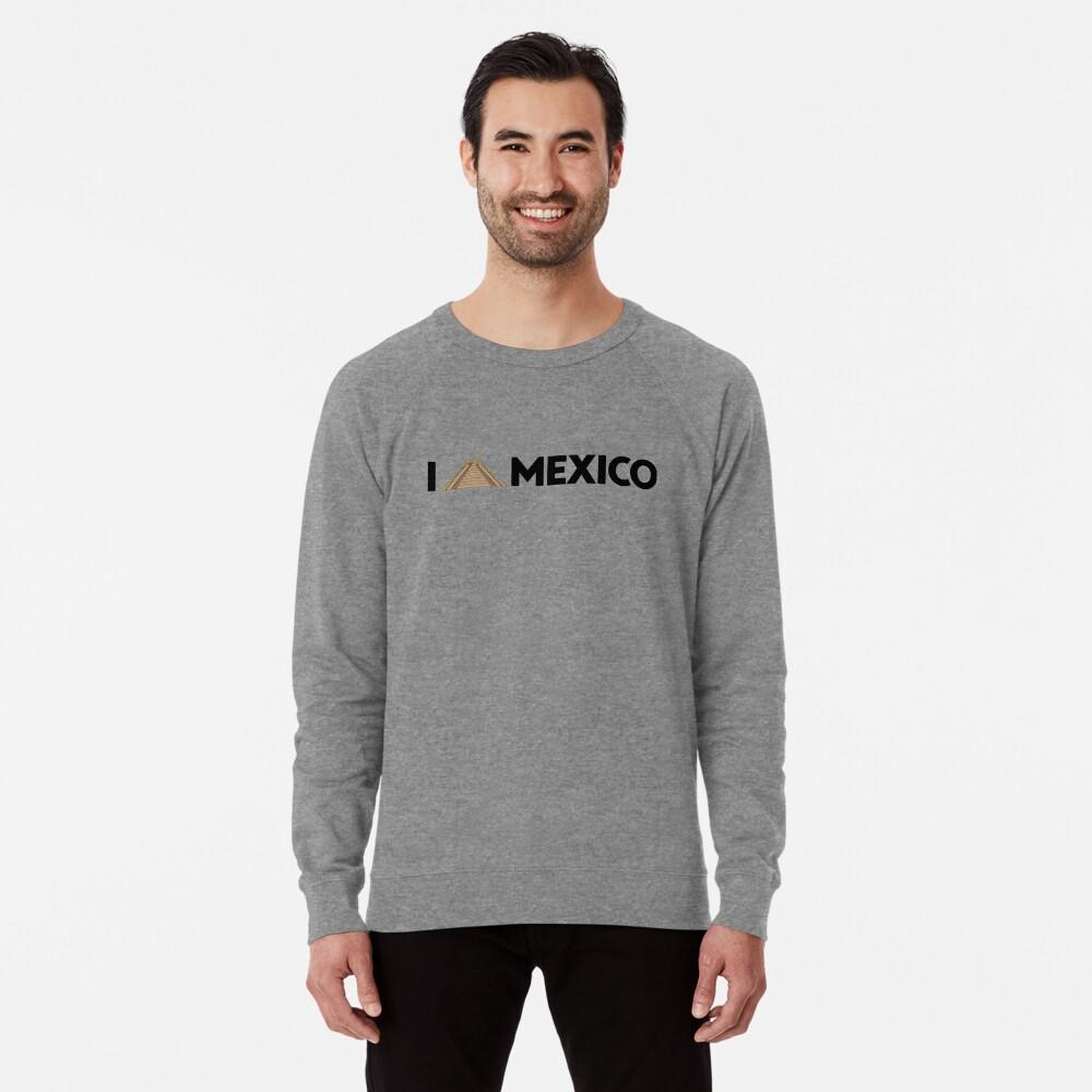 I love Mexico - Chichen Lightweight Sweatshirt