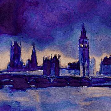 Purple London  by kjhart8