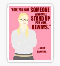 Kara Danvers - Defend Sticker