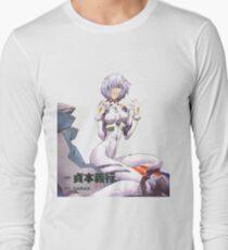 Camiseta de manga larga Rei Ayanami Neon Genesis