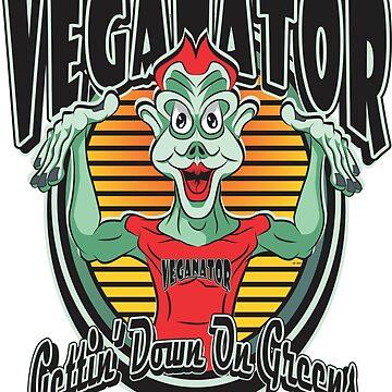 VEGANATOR Gettin' Down On Greens by MontanaJack