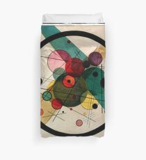 Kandinsky - Circles in a Circle Duvet Cover