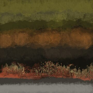 Natural Colors in Layers, Green, Copper, Browns by Jessielee72