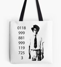 It crowd emergency number Tote Bag