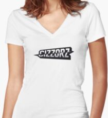 Faze Cizzorz Logo Graphic  Women's Fitted V-Neck T-Shirt