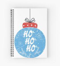 ❄ HoHoHo Ball ❄ Spiral Notebook