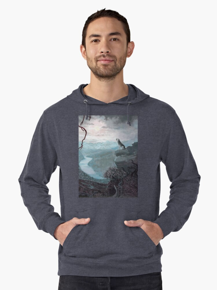A Chilling Cry   Lightweight Hoodie Front