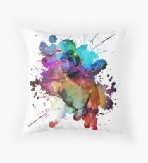 Spock of the Stars Throw Pillow