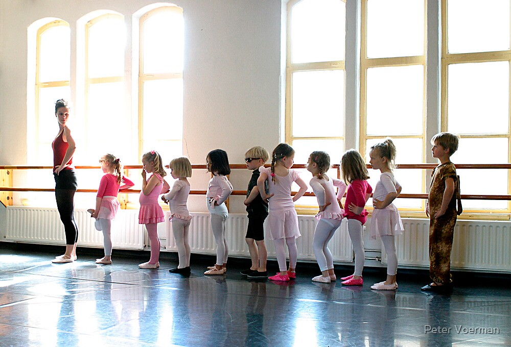 The ballet class by Peter Voerman