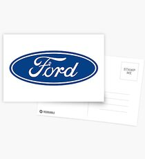 Ford Motors Logo Sticker, T-Shirt, and More Postcards