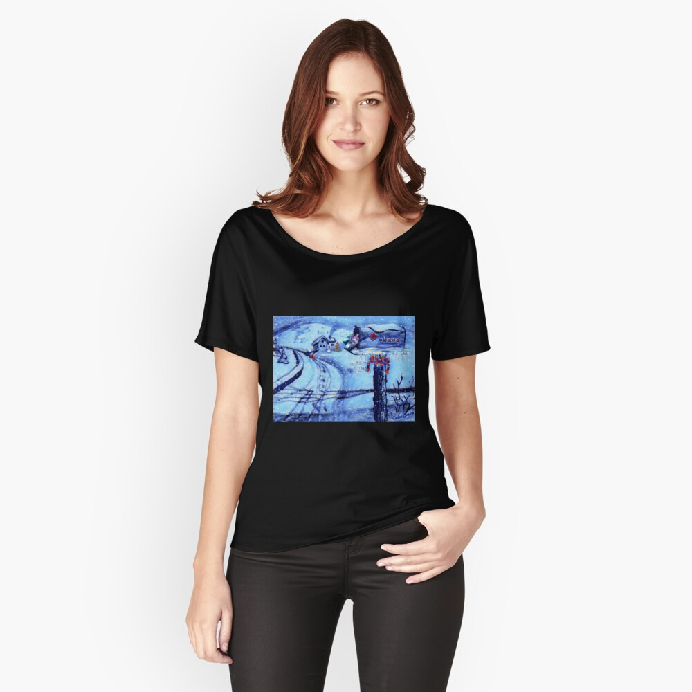 HOME FOR THE HOLIDAYS Relaxed Fit T-Shirt