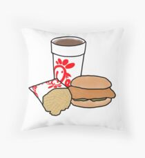 Chick-Fil-A Meal Throw Pillow