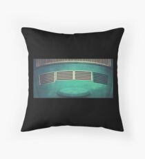 Volkswagen Bug Abstract Throw Pillow