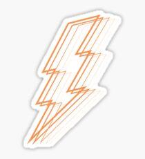 Orange Blitz Sticker
