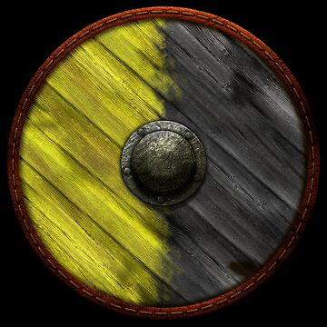 Shield - Yellow / Black 2 tone by kayakcapers