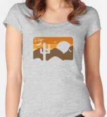 Go West Women's Fitted Scoop T-Shirt